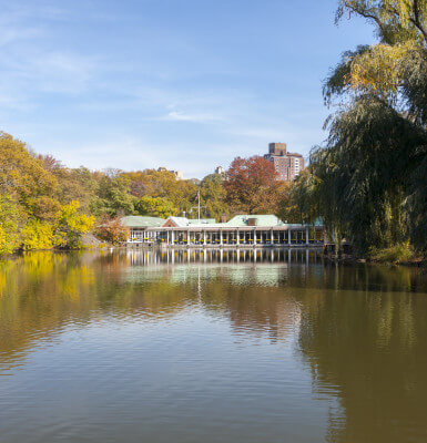 Loeb Boathouse in Central Park