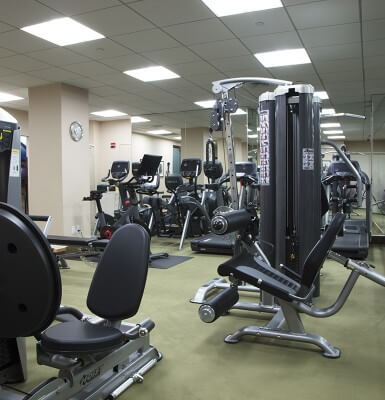 The Sherry-Netherland provides guests with complimentary access to the fitness center.